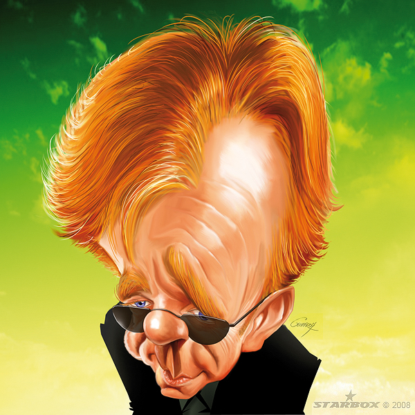 dooffy_karikatury_caricatures_horatio_caine_by_Anthony_Geoffroy